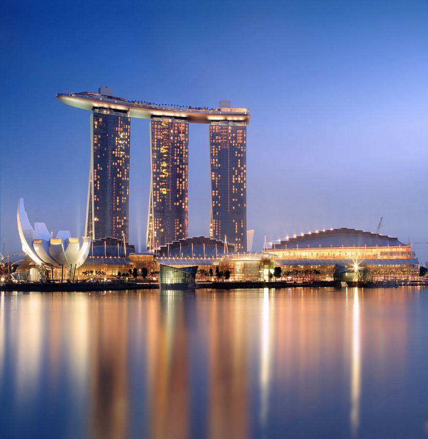 MARINA BAY SANDS INTEGRATED RESORTS, SINGAPORE